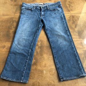 Paige Crop Jeans Size 31